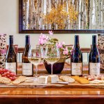Wine tasting and afternoon appetizers