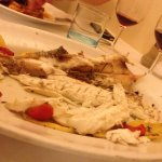filet of sea bass (branzino)