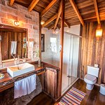 Bathroom of the Master Chalet 5