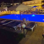 Changing colours in Pool after dark