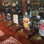 7 lovely real ales to choose from