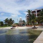 Just half of the resort