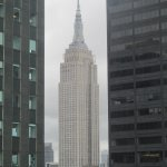 Empire State Building at daytime (view from the Empire Suite)