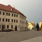 Sicht vom Schlossplatz