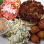 Crab Cake Sandwich Lunch Special