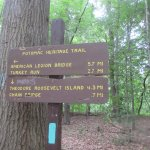 Distance and directions for hikers