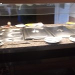 The entire size of hot breakfast bar, serving a coach load at one time!