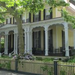 One of the houses along the Historic District Tour.