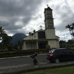 Church downtown La Fortuna