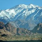 Nieve en la Cordillera.
