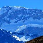 Vista del Aconcagua.