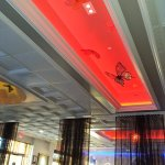 Ceiling treatments Royal China restaurant Santa Rosa CA