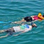 Snorkeling in Santa Maria Bay with Pez Gato.