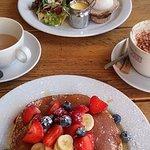 Eggs Benedict, & American Pancakes