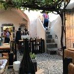 Love this restaurant,favourite restaurant in Greece let alone Santorini,very unique,interesting