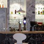 Design moderne du bar.