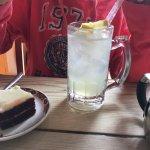 Lemonade and flat white