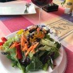mixed salad €4.50