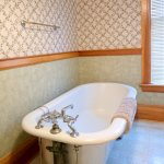 When you stay in the Mississippi Room, this clawfoot tub is yours to enjoy.