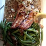 Redfish with Lump Crab Meat