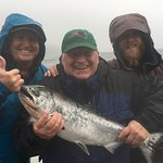 King Salmon! Guides Fred and Sean