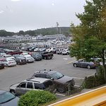 Capers has one of the best views in Boothbay Harbor, ME.