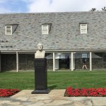 Entrance to FDR Presidential Library and Museum