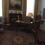 Original private study of FDR - all authentic furnishings