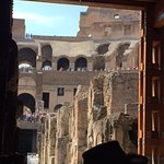 Ground floor view of the Colosseum - trap-doors, holding cages, multi-level stage construction -