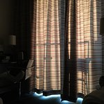 Too bright at night: this is 4am in spring/summer, curtains too thin...