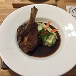 Beautifully presented, the lamb was tender, moist and full of flavor! Veggies were so good I eve