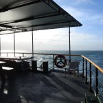 Back deck. keep an eye out for Dolphins , Turtles, Whales & Sea Snakes.