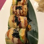 The Geisha Roll. Highly recommended.