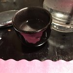 The hot saki was great.