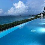 Amazing outdoor infinity pool (part of Ocean Club units)