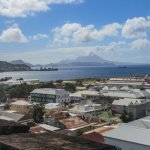 View of Nevis from tower