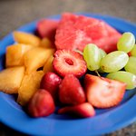 Fresh fruit is available all Summer!