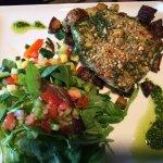 Cod with Salad