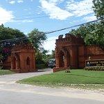 Entrance to Myanmar Treasure Resort