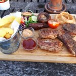 The mixed grill!