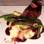Port & Roquefort Filet Excellent filet, nice crust on it cooked perfectly