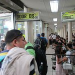 Waiting area Inside Cebu South Terminal Bus Station