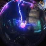 Electric Wave Exhibit, Clark Planetarium, Salt Lake City, Utah