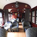 Scenic railway carriage Gold Class