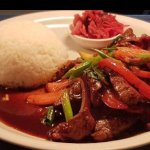 Weekly specials,Nepalese Pork belly soup (thukpa), Stir fry beef with rice and home made kimchi,