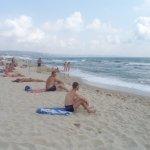бесплатная зона пляжа