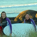 fun times at West Coast surf