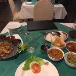 kothu and srilankan traditional meal