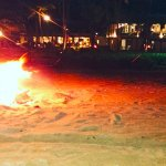 Avani Kalutara Sundower Cocktails and bonfire on the beach