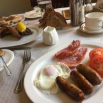 Delicious Kippers and Bothams Breakfast